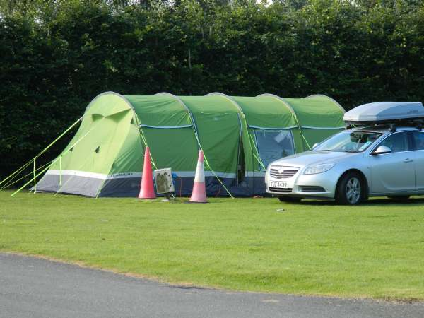 These people are serious about their tents.