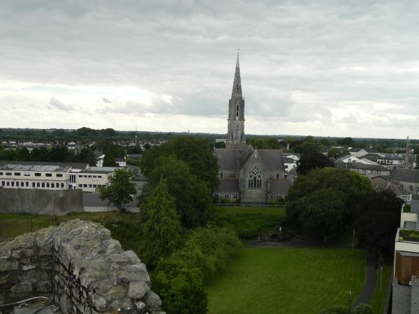 View from top of Trim Castle.