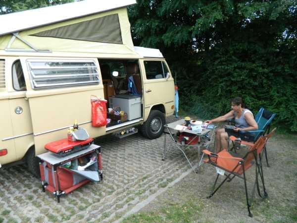 Amsterdam Camping spot.