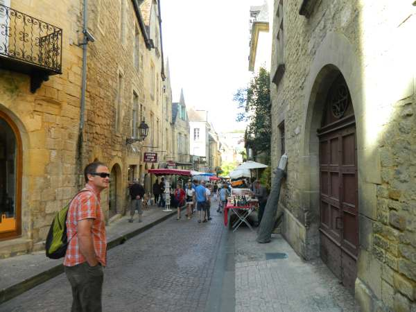 Sarlat downtown