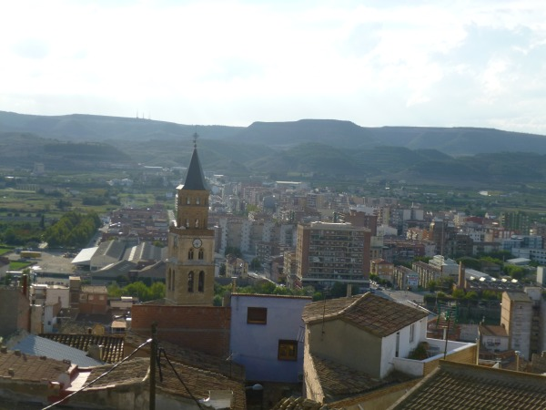 Fraga city view