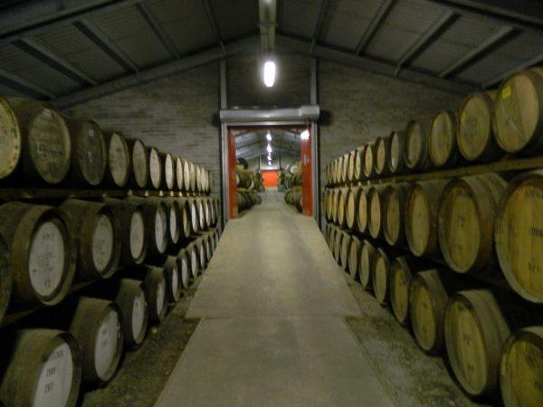 Edradour Distillary, Scotland's smallest