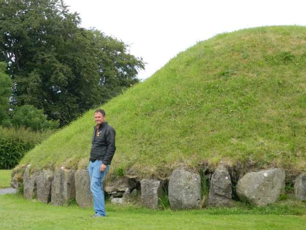 One of the smaller mounds of Bru Na Boinne