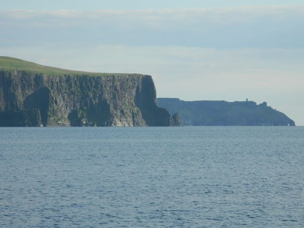 Northern end of the Cliffs of Moher