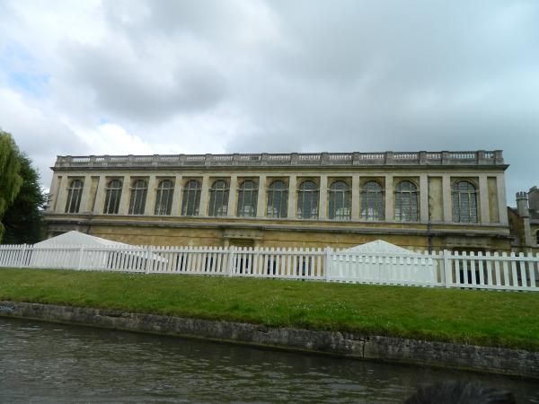 Wren Library, Where Newton first measured the speed of sound.
