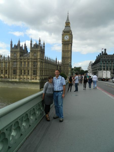 Tourists at Big Ben