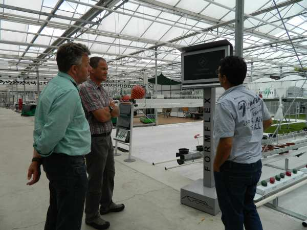 has made great advancements in incorporating robotics into the greenhouse facilities.
