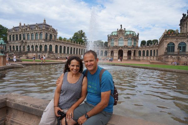 Zwinger fountain