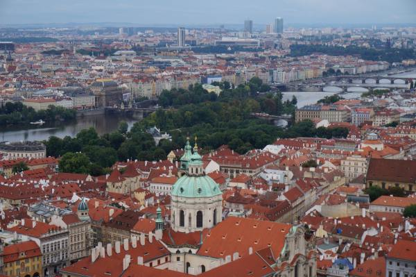 View from Sigismund Tower, worth every one of the 287 steps it took to get there (depends who you ask).