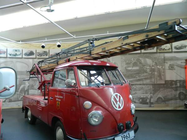 VW Bus firetruck.  First responder?