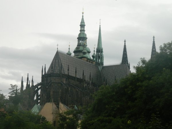 Prague Castle is in the Guinness Book of World Records as the worlds largest covering just over 70,000 square meters or just over 17 acres.
