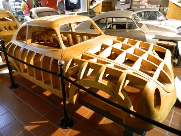Gmund Austria is where the first Porsche was built.  In the museum there was the original wood mold for the 356 model.