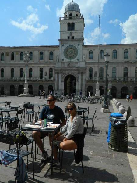 Padua town square.