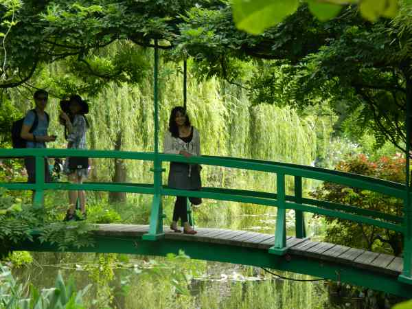 Famous Monet Giverny bridge