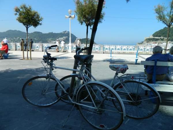 Bikes park much much easier than cars.
