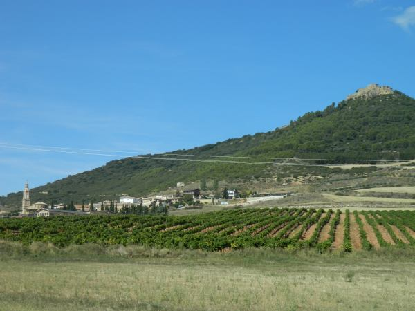 The country side looks much like California with its vineyards and dry hills.