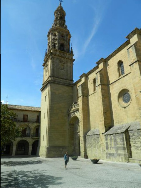 Church of Santa Maria in Briones, Spain.