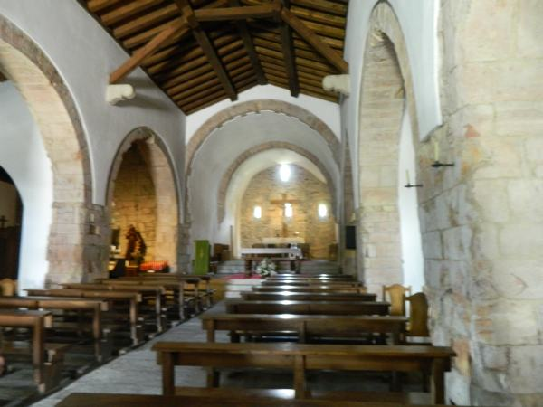 "Oldest church along the ""Trail of Saint James"" is the Santa Maria La Real founded in 846 AD."
