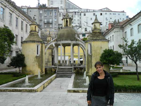 Historical architecture found throughout the city of Coimbra