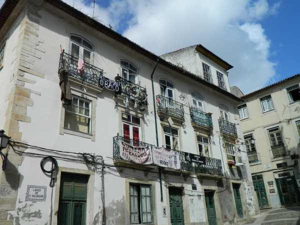 Coimbra University student housing.