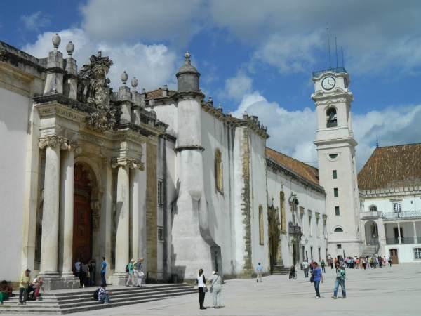 University courtyard