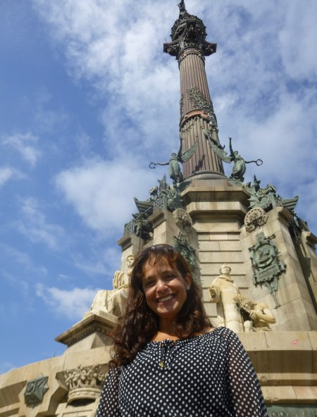 Christoper Columbus Memorial - Barcelona.