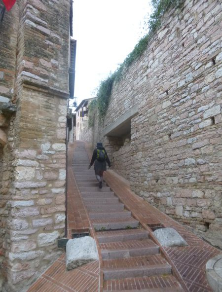 So many stairs in hill towns/
