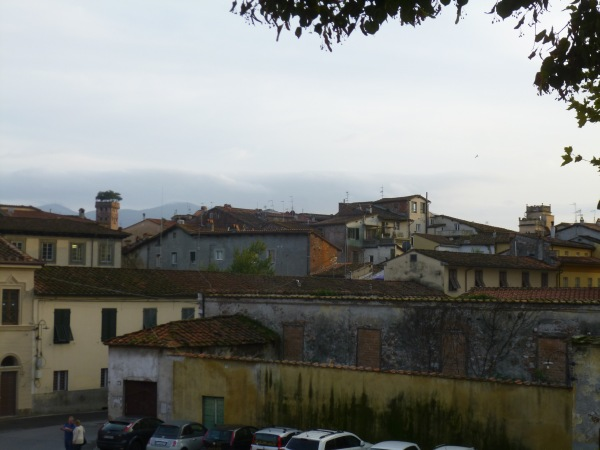 Old walled city of Lucca.